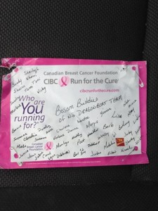 Run for the Cure 2014